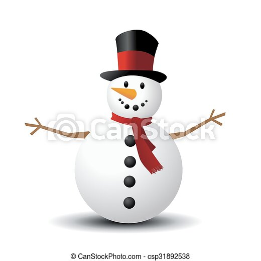 Christmas Snowman - csp31892538