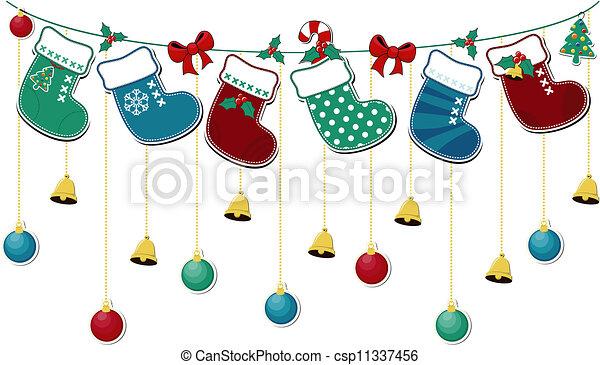 Christmas Stocking Drawing Easy.Christmas Socks