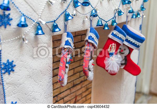 Christmas socks - csp43604432