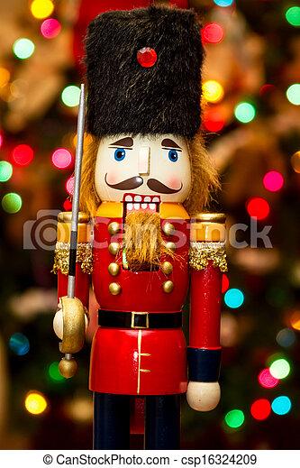 christmas solider nutcracker csp16324209