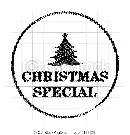 Christmas special icon - csp40155823