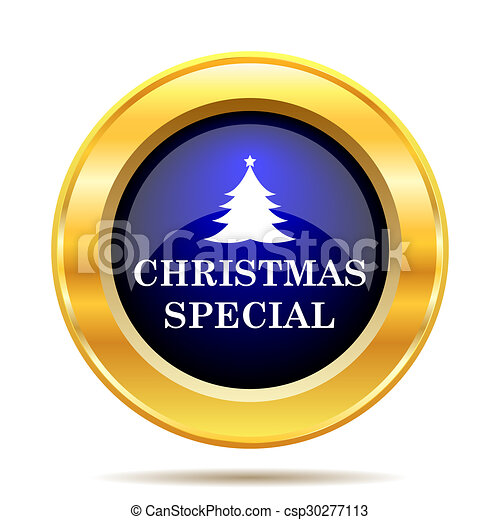 Christmas special icon - csp30277113