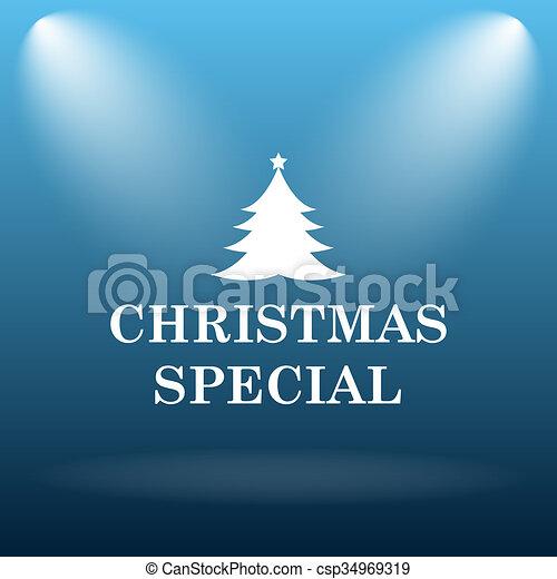 Christmas special icon - csp34969319