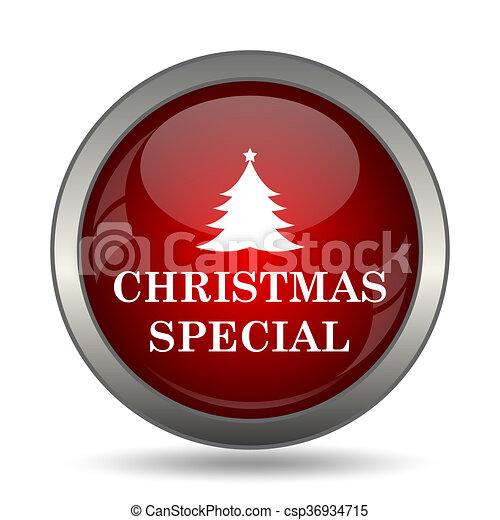 Christmas special icon - csp36934715
