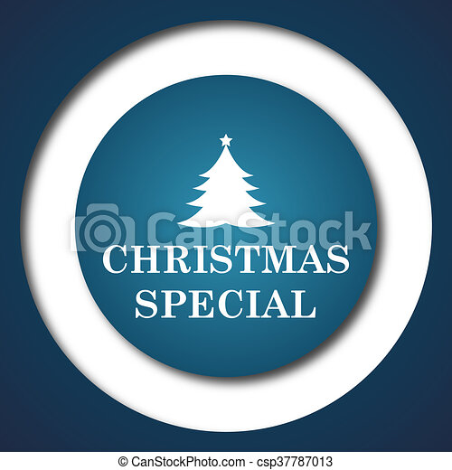 Christmas special icon - csp37787013