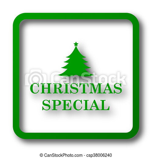 Christmas special icon - csp38006240