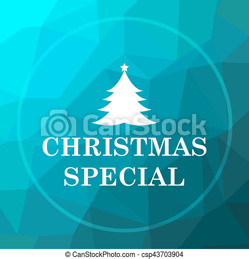 Christmas special icon - csp43703904