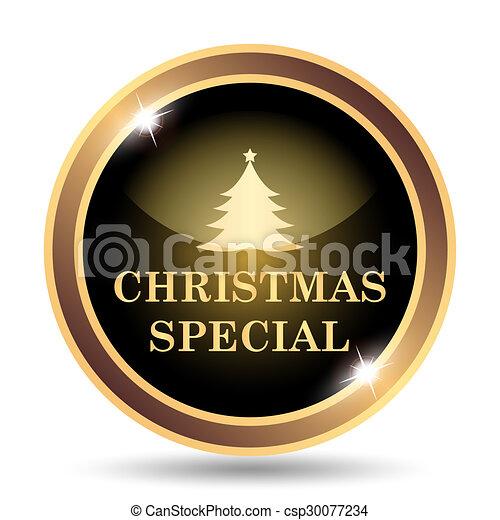 Christmas special icon - csp30077234