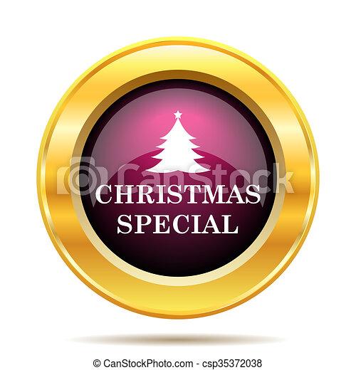 Christmas special icon - csp35372038