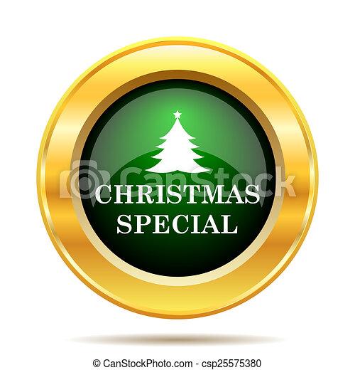Christmas special icon - csp25575380