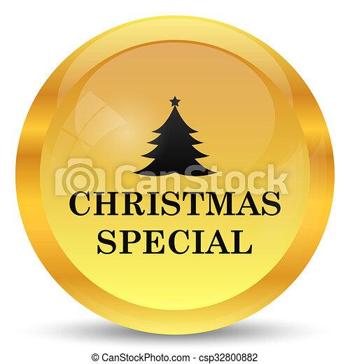 Christmas special icon - csp32800882