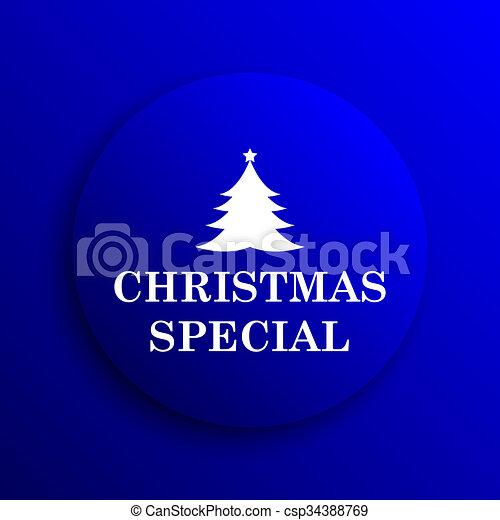 Christmas special icon - csp34388769