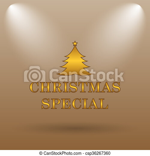 Christmas special icon - csp36267360
