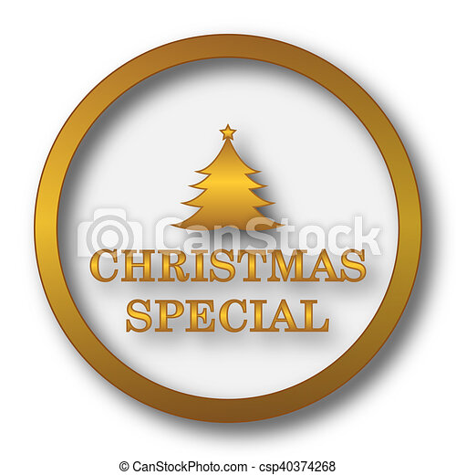 Christmas special icon - csp40374268
