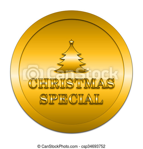 Christmas special icon - csp34693752