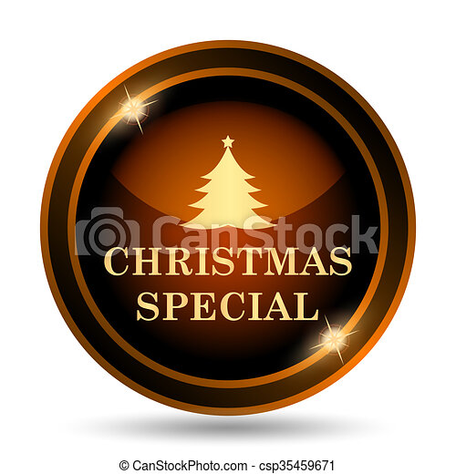 Christmas special icon - csp35459671