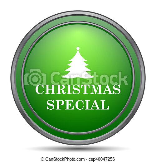 Christmas special icon - csp40047256