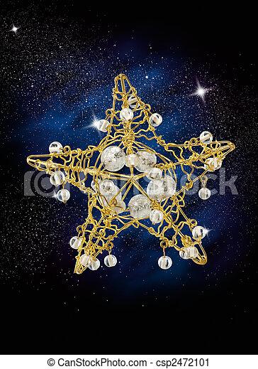 christmas star - csp2472101