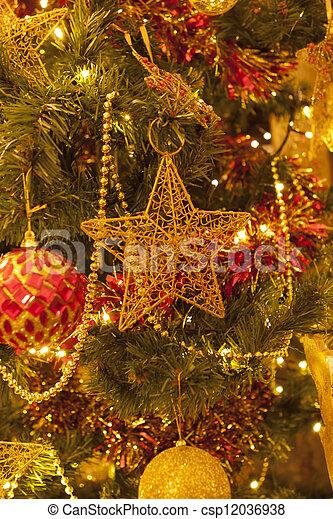 christmas star - csp12036938