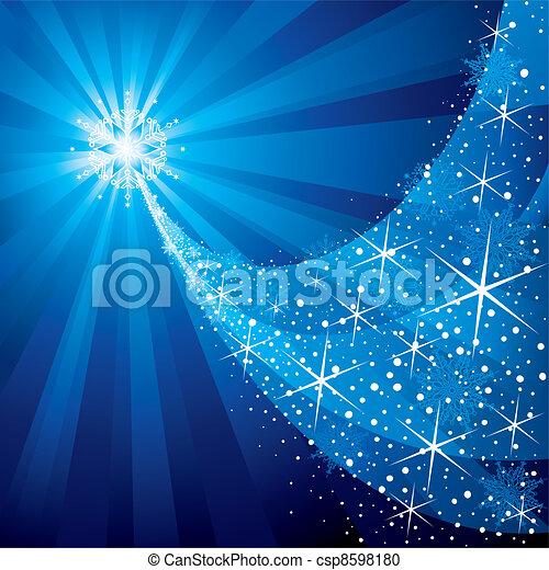 Christmas Star - csp8598180