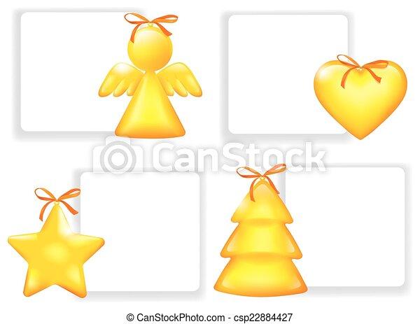 Christmas Stickers - csp22884427