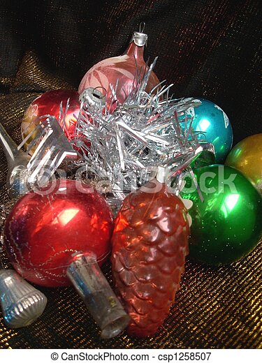Christmas still life - csp1258507