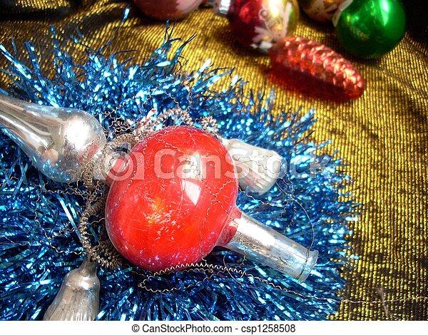 Christmas still life - csp1258508