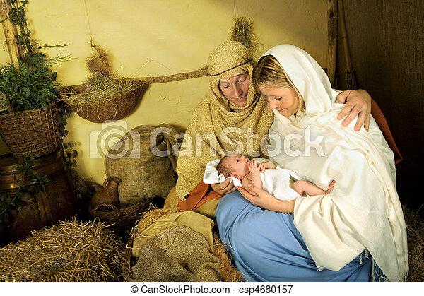 Christmas story - csp4680157