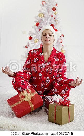 christmas stress relief - csp10873745