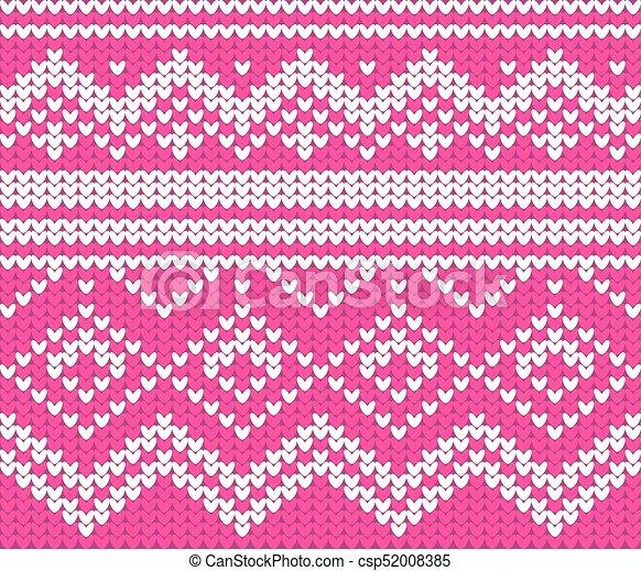 Christmas Sweater Design Seamless Knitting Pattern Christmas And