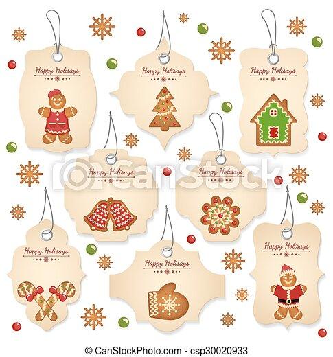 Christmas tags - csp30020933