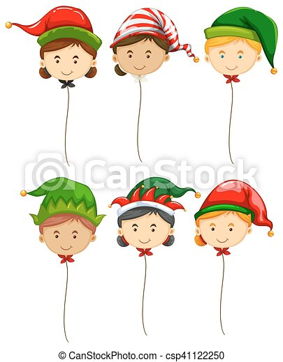Christmas Theme With Fancy Balloons