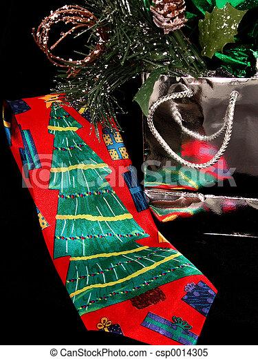 Christmas Tie - csp0014305
