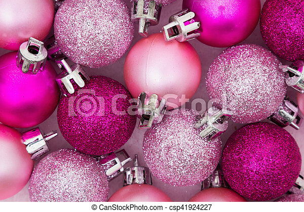 Christmas Time Background Some Pale And Bright Pink Sparkle