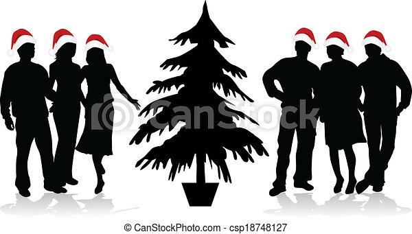 Christmas time  - csp18748127