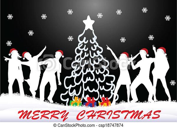 Christmas time  - csp18747874