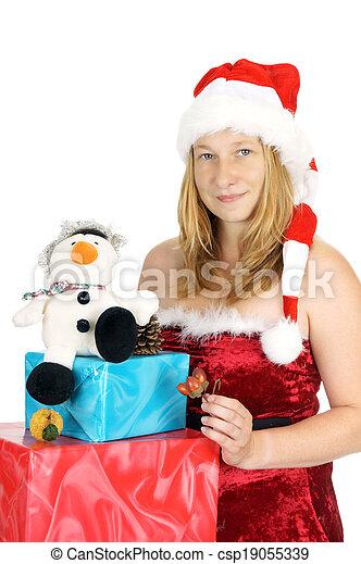 christmas time - csp19055339