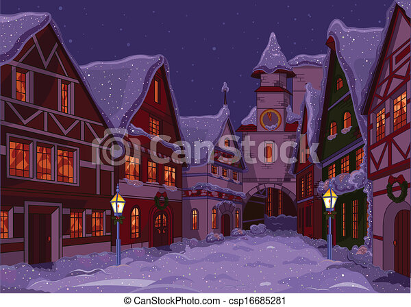 Christmas town - csp16685281