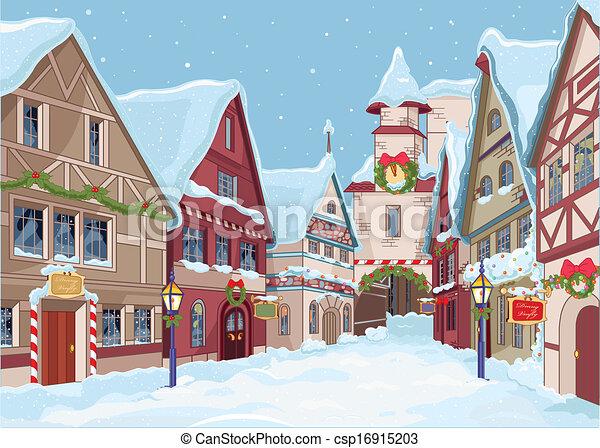 Christmas town - csp16915203