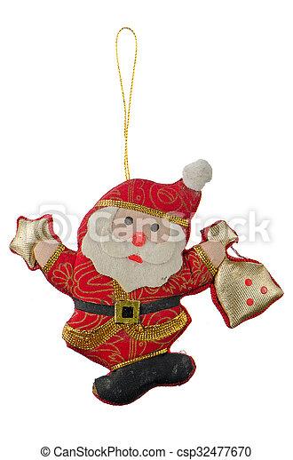 Christmas Toy Santa Claus - csp32477670