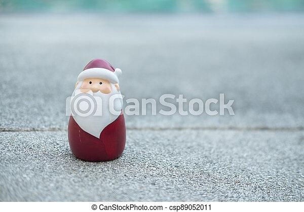 Christmas toy Santa Claus. - csp89052011