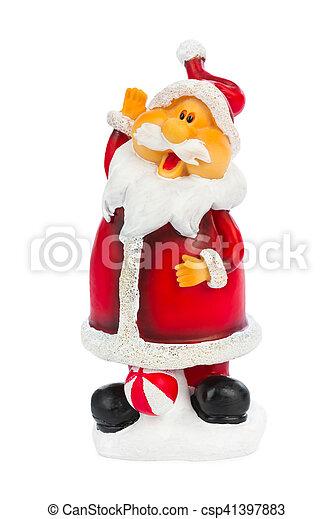 Christmas toy Santa Claus - csp41397883