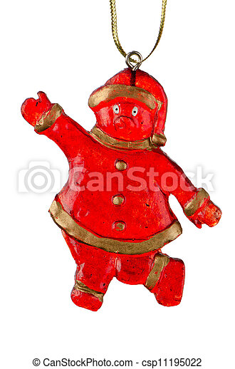 Christmas Toy Santa Claus - csp11195022