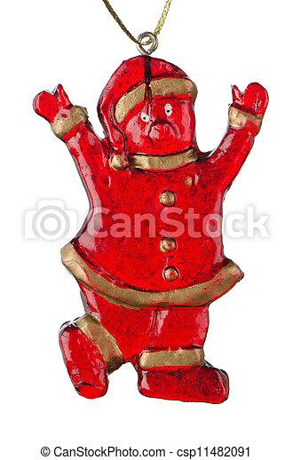 Christmas Toy Santa Claus - csp11482091