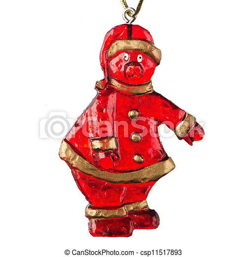 Christmas Toy Santa Claus - csp11517893