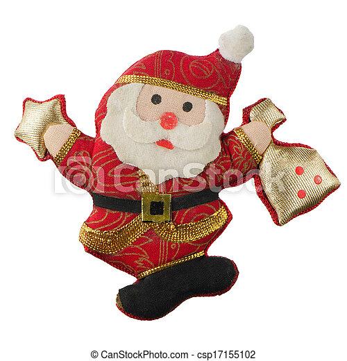 Christmas Toy Santa Claus - csp17155102