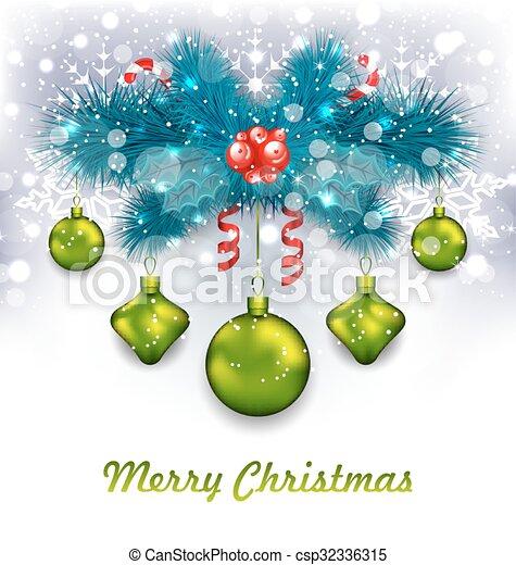 Christmas Traditional Decoration - csp32336315