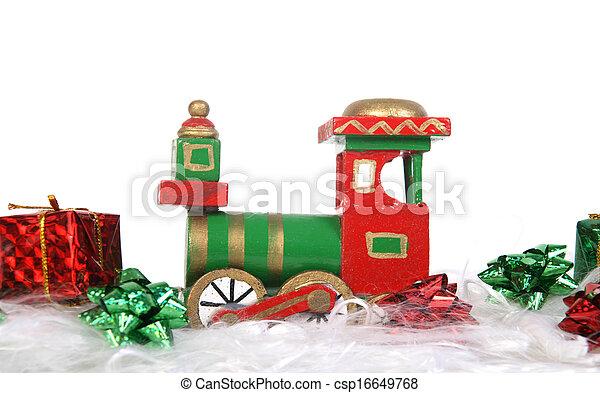 christmas train - csp16649768