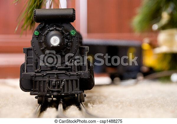 Christmas Train - csp1488275