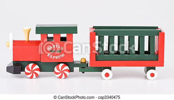 Christmas train - csp3340475